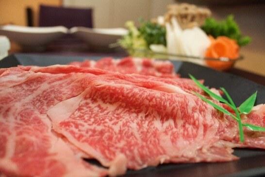 霜降り牛肉