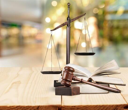 天秤と法令・法律